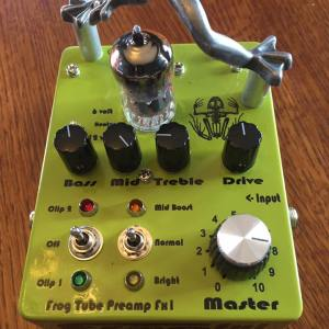 Tube Preamps for Guitar and Bass
