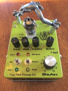 Frog Tube Preamp Fx1-serial number 1