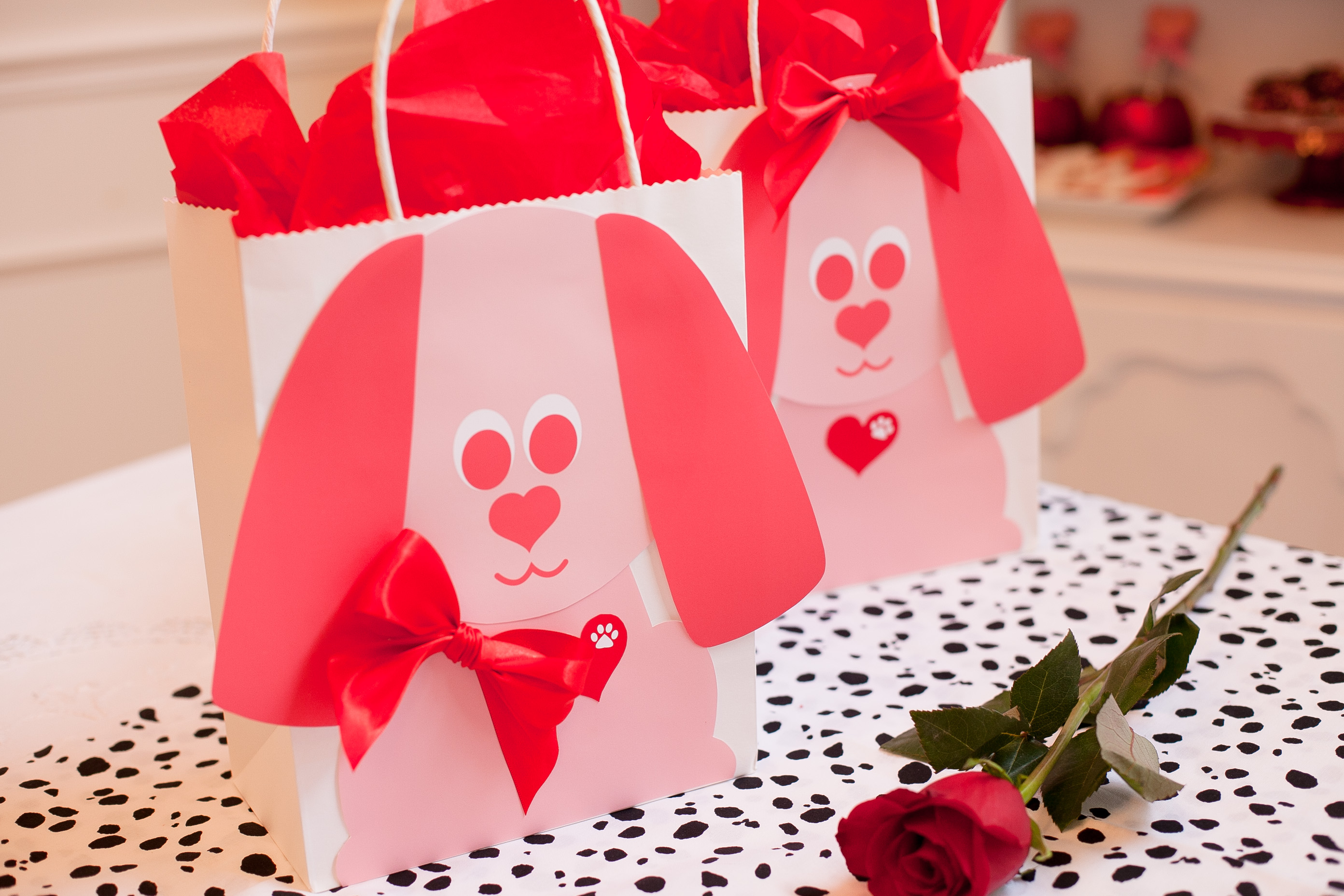 Valentine S Day Doggie Bags For T Giving