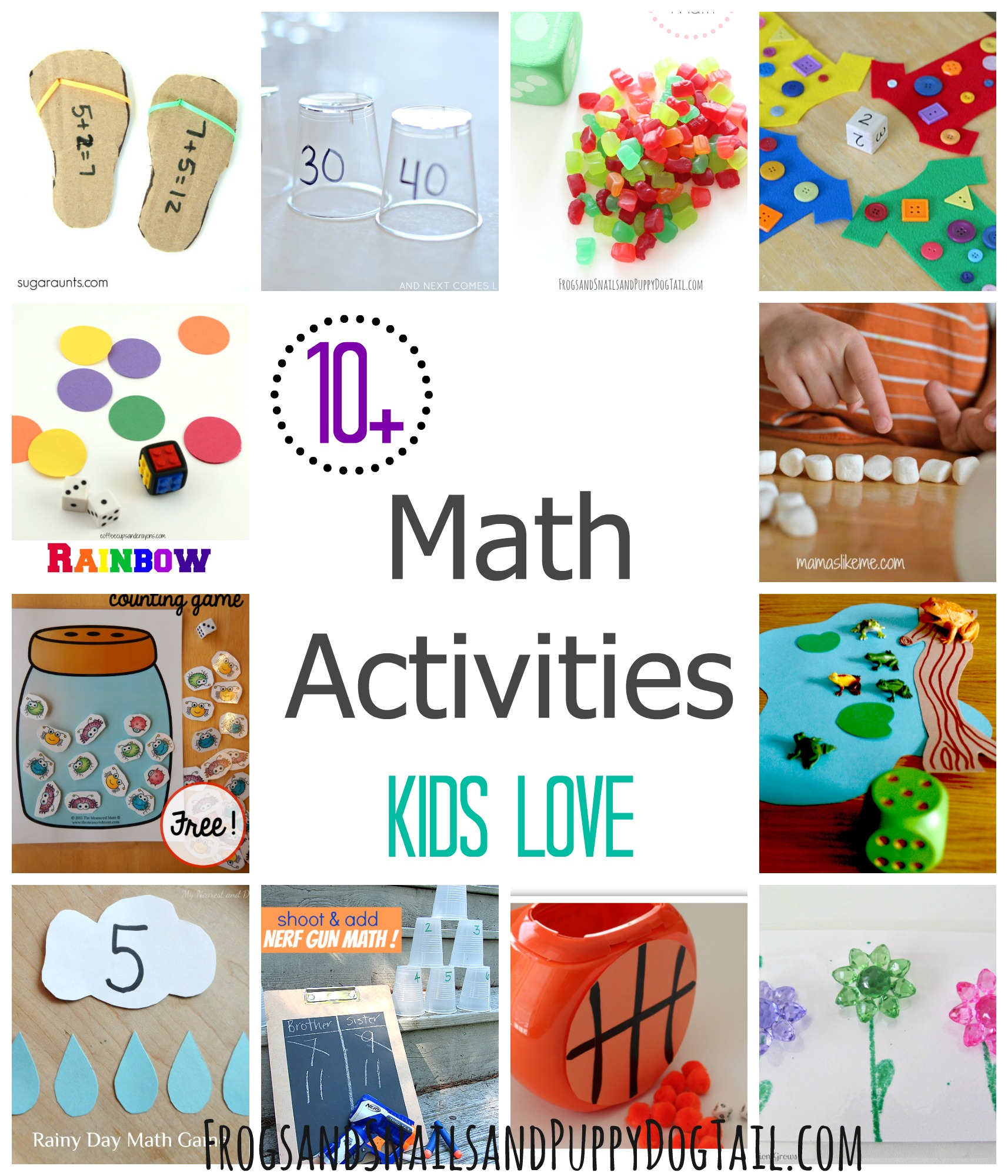Math Activities Kids Love