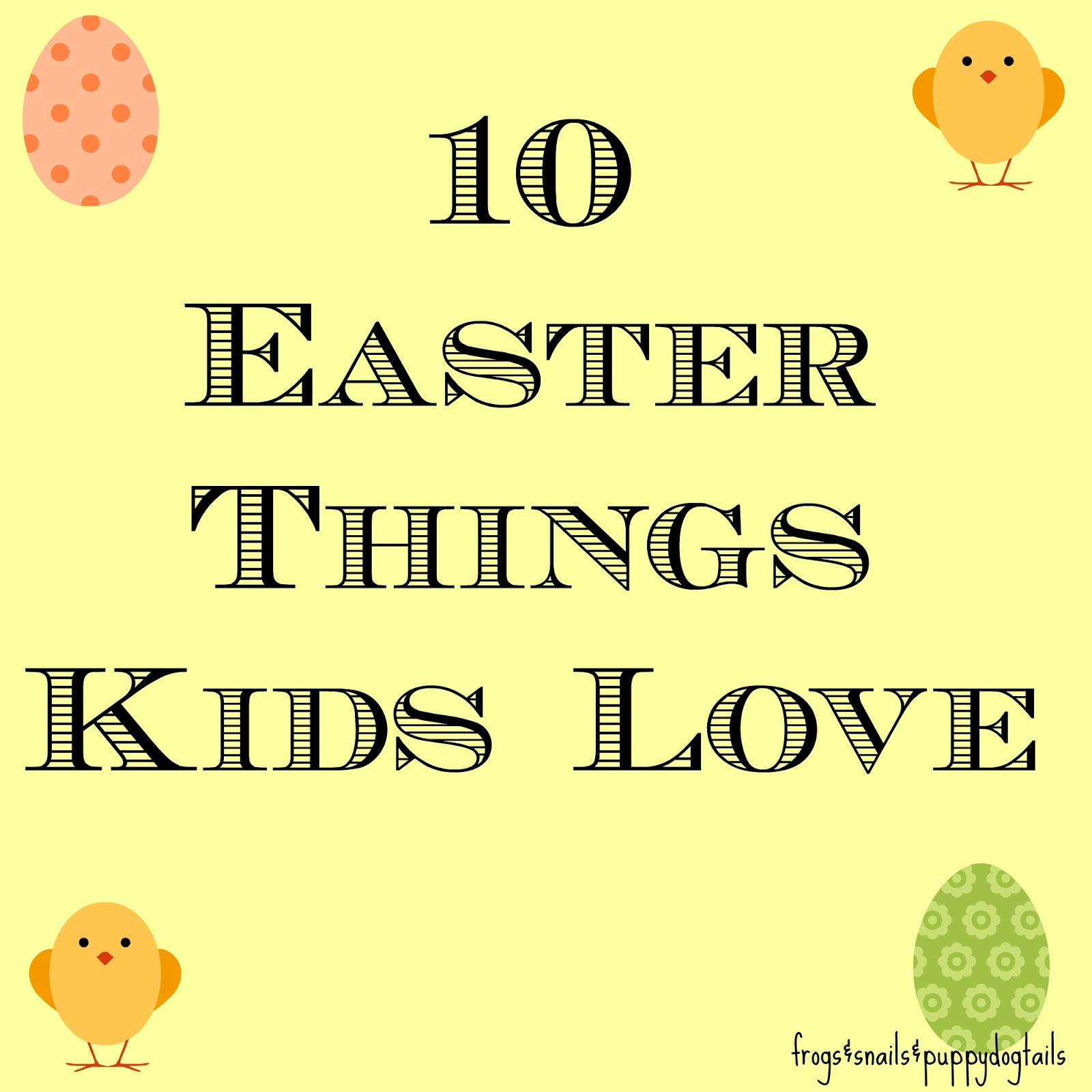 10 Easter Activities Kids Love