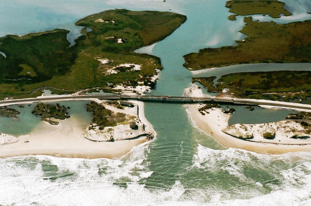 Aerial Photos of Rodanthe, NC New Bridge Over Inlet   (3/3)