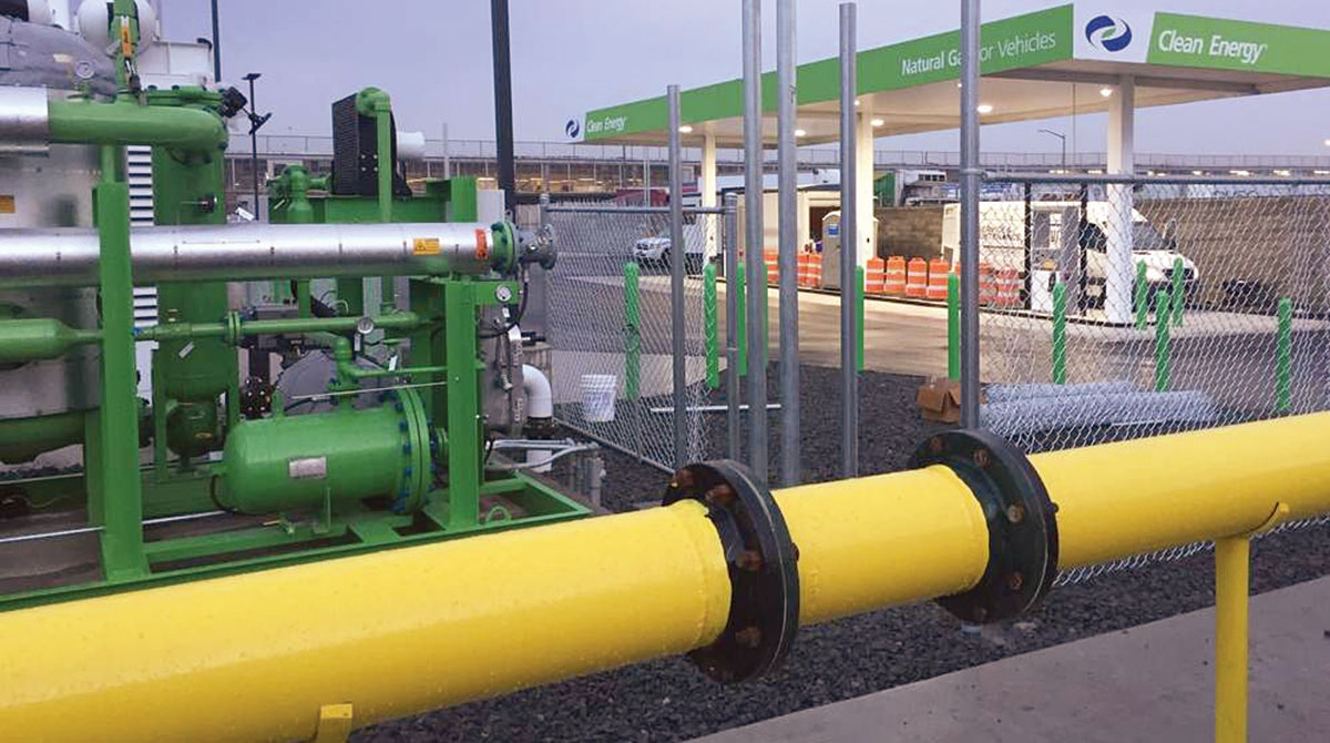 CARB Says to Turn Natural Gas Vehicles Carbon Negative