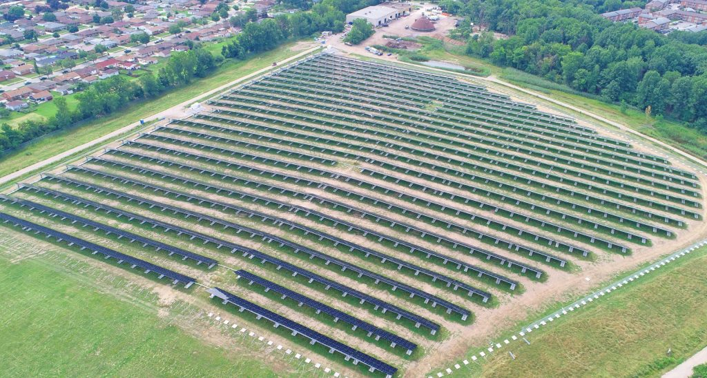 Solar Farm Gives a Landfill A New Purpose at New Jersey