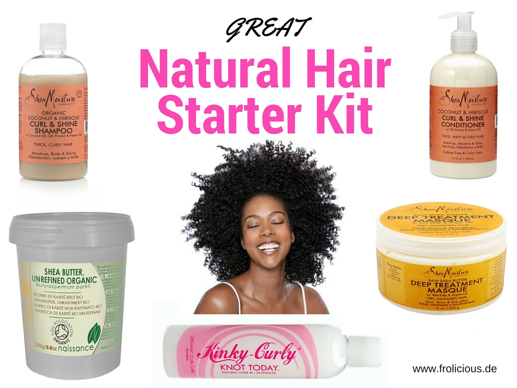 Best Products To Use On Coarse Natural Hair