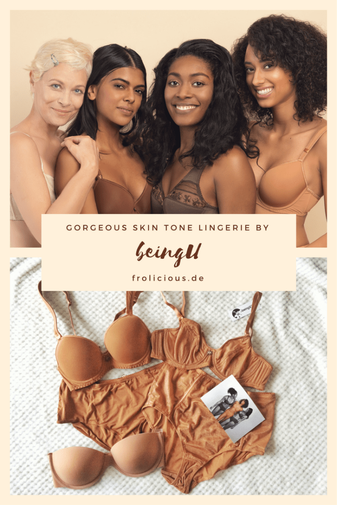 beingU skin tone lingerie