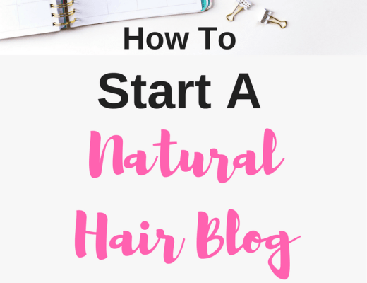 start a natural hair blog