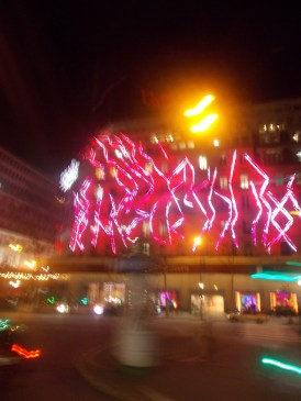 Some Cool Neon lights on a department store