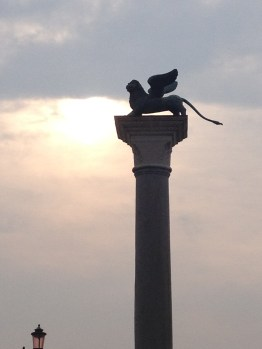 The Winged Lion, a symbol of St. Mark and Venice