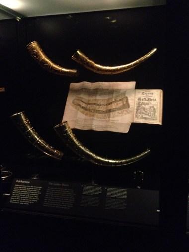 Golden horns of Gallehus, a national Danish symbol