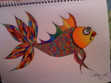Untitled Prismacolor and Sharpie 2010