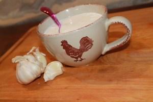 стакан молока с чесноком -эликсир молодости...!