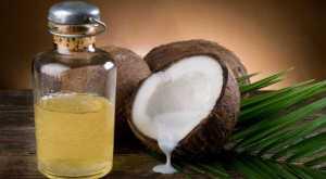 польза кокосового масла , чистим зубы  !