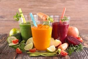 продукты которые очищают организм...)