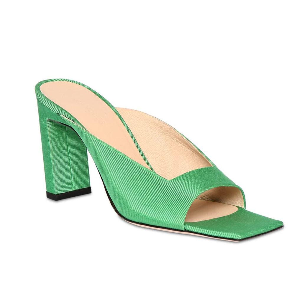 Schuhtrends: Square Toe Sandalen von Wandler