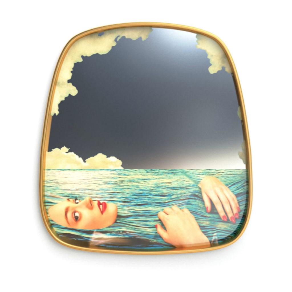 Deko-Spiegel von Seletti