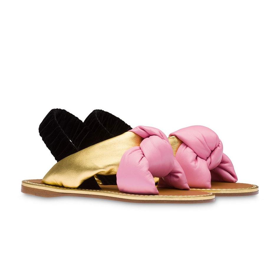 Sandalen von Miu Miu