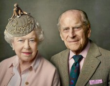 WINDSOR, UNITED KINGDOM - UNDATED: (EDITORS NOTE: This image may be used free of charge, internationally, for 14 days from release, until Friday June 24, 2016.) This handout released by the Buckingham Palace on June 10, 2016 to mark the Queen's 90th birthday, shows Queen Elizabeth II with her husband, The Duke of Edinburgh, and was taken at Windsor Castle just after Easter. (Photo by Annie Leibovitz/Buckingham Palace via Getty Images)