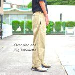 【ビッグシルエットの着こなし攻略】ある部分を意識すれば簡単にオシャレになる。