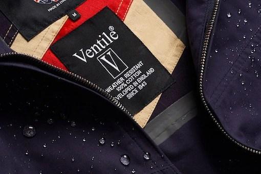 ベンタイルコットンを使用したジャケット