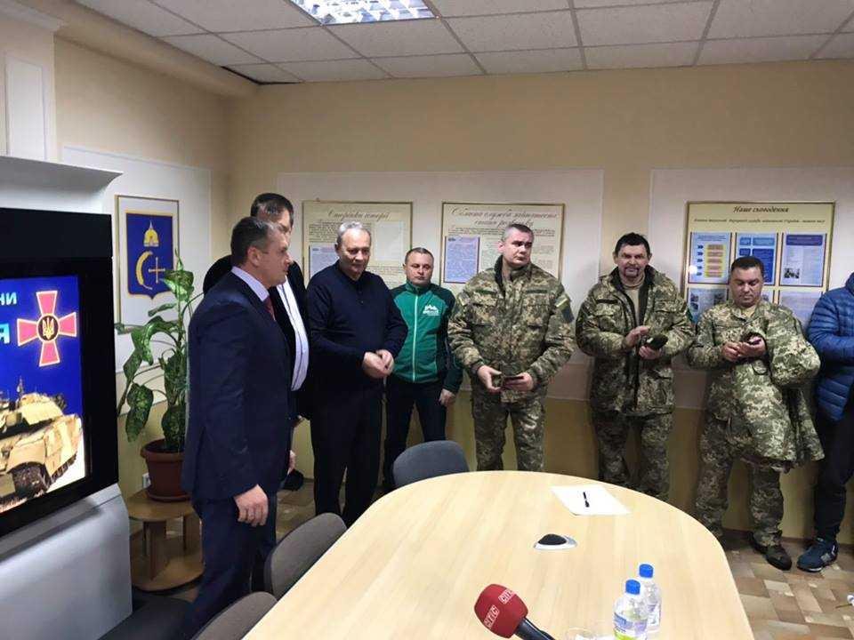 Ігор Молоток привітав з Днем Збройних Сил України ветеранів АТО Сумщини