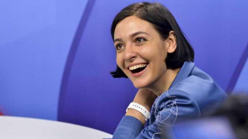 Прессекретарка Єрмака лайкає російського фігуриста Плющенка, який агітує за референдум у РФ