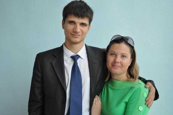Сергій Берендєєв з дружиною Тетяною, теж педагогом і майстром спорту