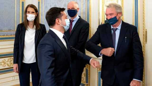 Президент України подякував міністрам Бенілюксу за ініціативу відвідати Донбас