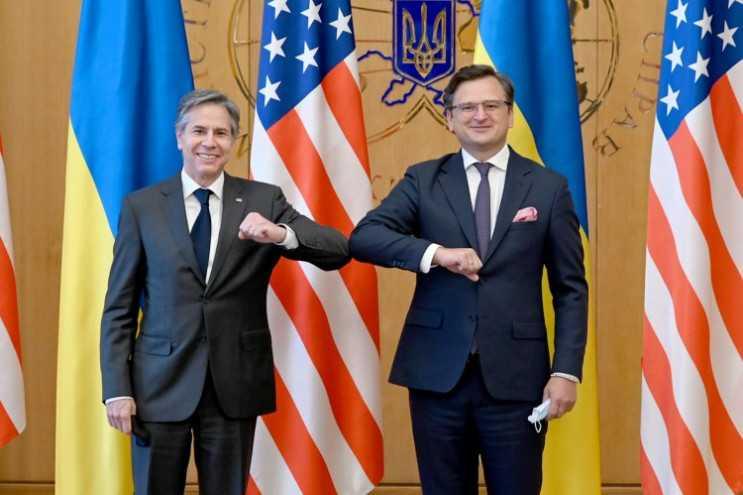 Визит Блинкена и Нуланд в Украину. Фоторепортаж