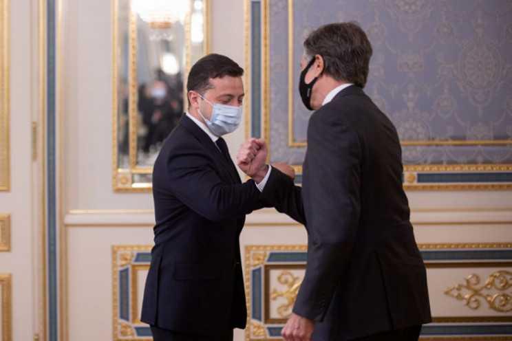 Визит Блинкена: Поможет ли это Зеленскому в отношениях с США