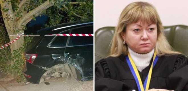 Судья Колегаева не задекларировала машину, на которой спьяну врезалась в столб