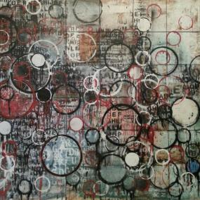 art-planets-two-48-x-48-mixed-media-on-wood