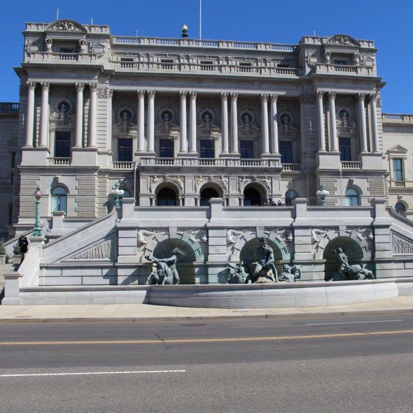Washington DC: Staying In A Place As Old As 1833 and The Library of Congress