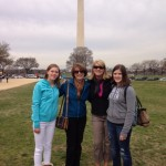The Watsons at the Washington Memorial