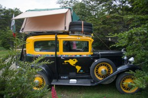 1930's Overlander with Rooftop tent