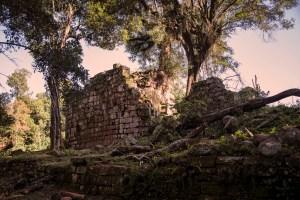 Ruined Wall at Santa Ana