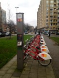 The velo station by my gym