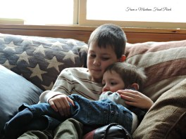 Brothers ~ From a Montana Front Porch