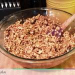 Making Fig, Toffee, and Walnut Granola From Anna's Kitchen (www.fromannaskitchen.com)