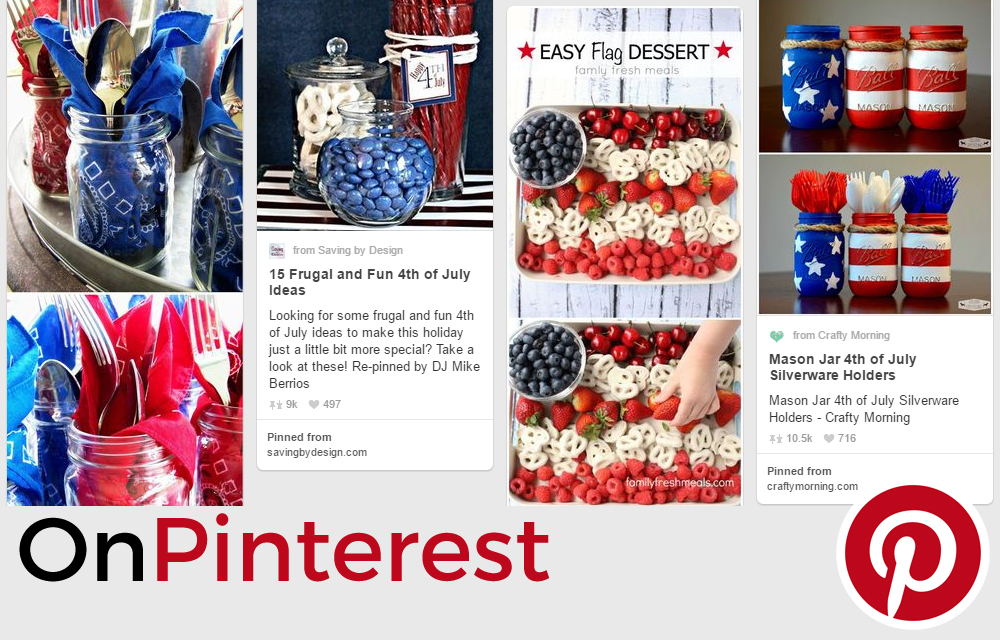 On Pinterest: Stars and Stripes