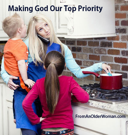 Making God Our Top Priority