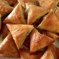 Spinach & Feta Filo Triangles- Mediterranean Style!