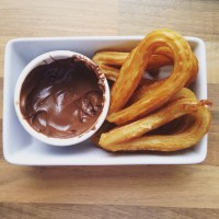 Young Foodie Travels: Spanish Churros with Nutella