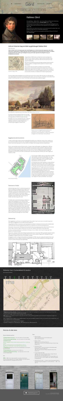 Wordpress: Købkes Gård/ historien
