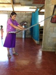 Weaving in Pantelho, Chiapas