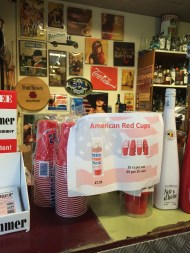 "They were advertising ""American Red Cups"". This is apparently only an american thing"