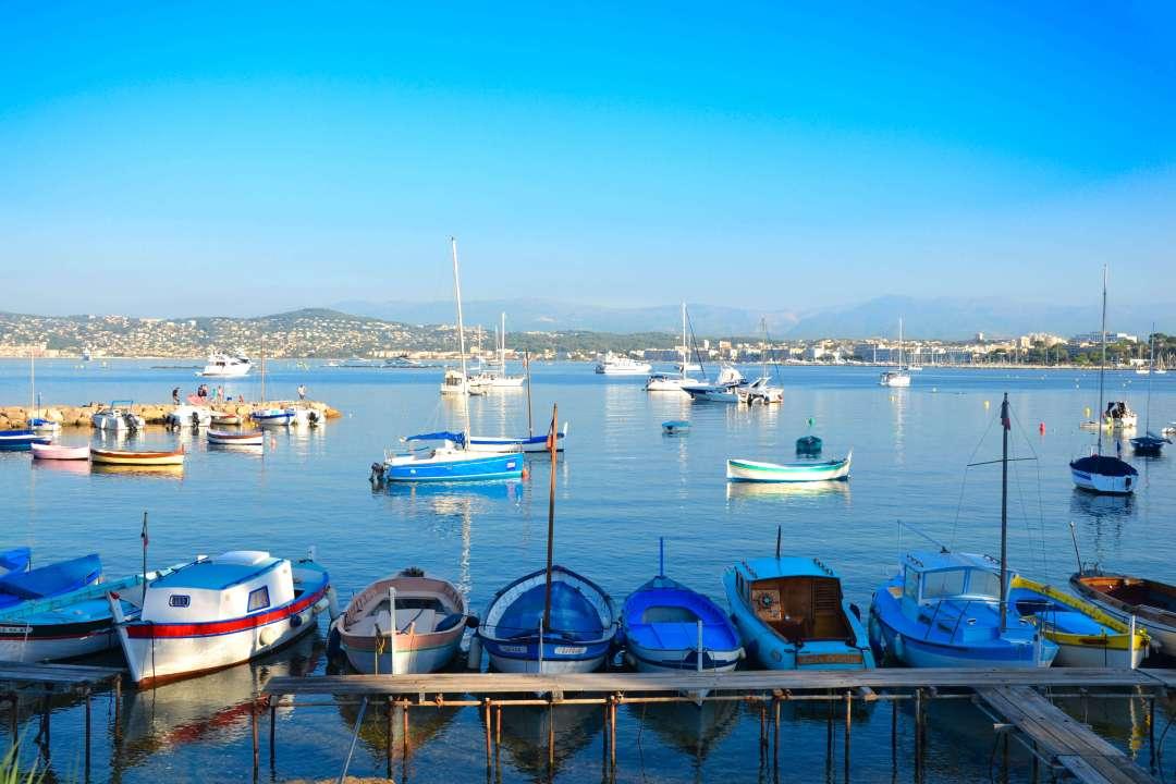 Port de l'Olivette Cap d'Antibes