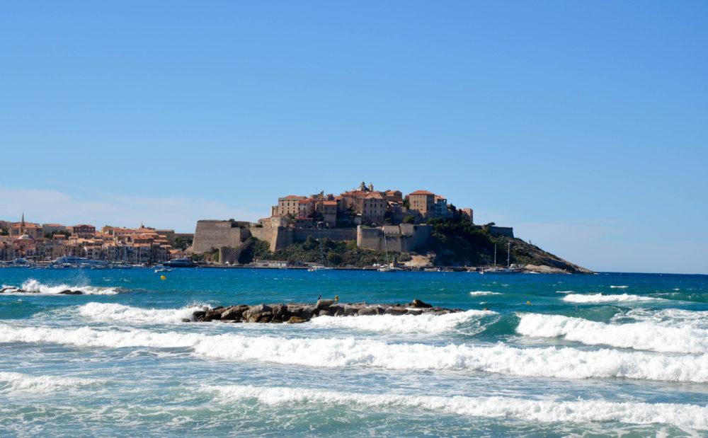citadelle plage calvi