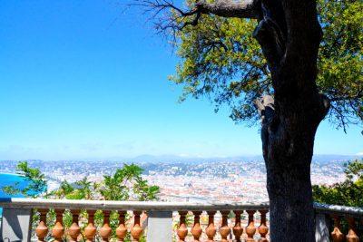 Nice baie des anges chateau de Nice