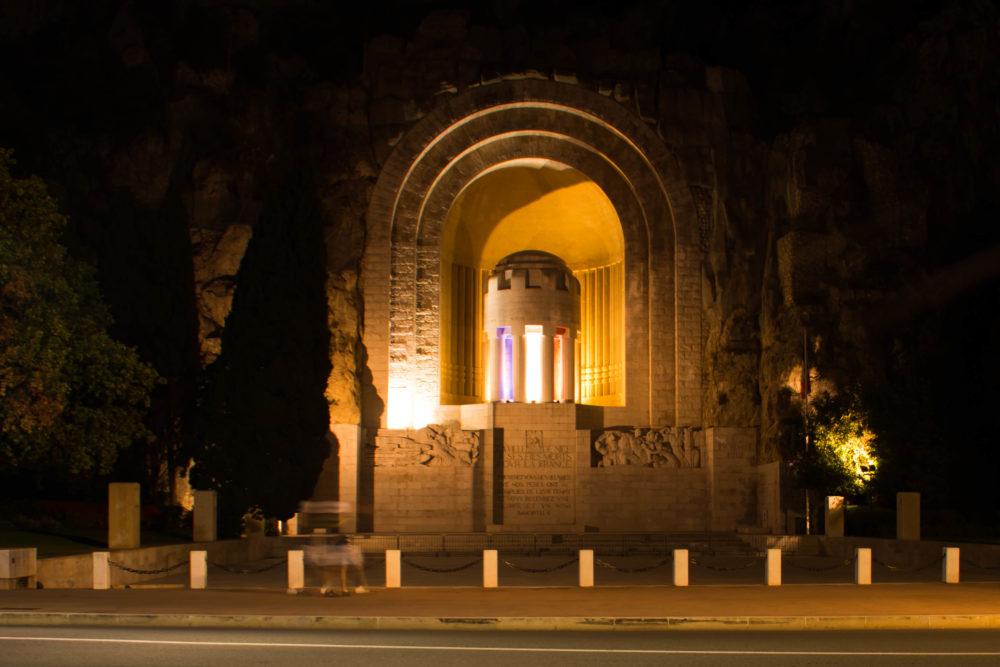monument aux morts nice